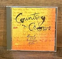 August and Everything After by Counting Crows (CD, Geffen)