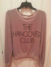 "NWT WILDFOX ""The Hangover Club"" Sweatshirt Sz XS"