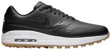 Nike Air Max 1 Golf Shoes Black/White/Gum Size 8 Men's AQ0863 001 NEW