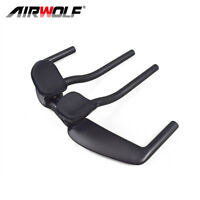 Cycling Bicycle Carbon Road Bike Extender TT Bar Aero Handlebar UD Black