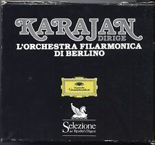 Karajan dirige L'Orchestra Flarmonica di Berlino - BOX 6 CD READER'S DIGEST