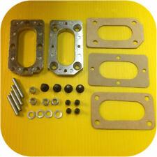 Weber Carburetor Manifold Adapter Subaru E82 85-87 DL GL Carb 1.6 1.8 Kit