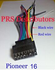 PIONEER 16 Pin Wiring Harness PIONEER Car Stereo WIRING HARNESS Model 16 NEW