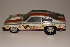MPC Pro Stock 1974 Chevrolet Vega Bruce Larson USA-1 , Original Kit