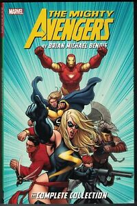 * MIGHTY AVENGERS (2007) COMPLETE COLLECTION TP TPB $39.99srp NEW ship damage