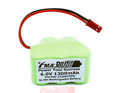 Receiver Battery Ni-MH Rechargeable 6V 1300mAh w/SYP Connector 1/2A_5SW