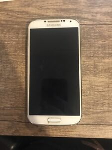Samsung Galaxy S4 Mobile Phone Handset *Please Read* White Fully Working