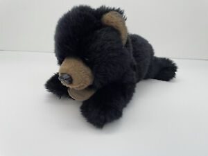 Russ Berrie Yomiko Classics Black Bear Cub Plush Soft Realistic Stuffed Toy