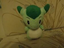 RARE NATSUME JAPAN HOMETOWN STORY PLUSH DOLL FIGURE GREEN DRAGON VIDEO GAMER TOY