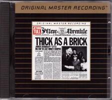 JETHRO TULL:Thick As A Brick-Mobile Fidelity 24kt Gold-MFSL UDCD I-JAPAN-RARE!