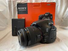 Sony Alpha SLT-A58 20MP Digital SLR Camera with 18-55mm Lens - Low Shutter Count