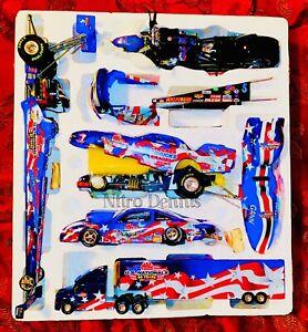 NHRA 1:24 Diecast NITRO Funny Car PRO STOCK BIKE 1:9 Drag Racing TOP FUEL US Nat