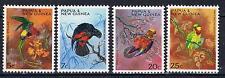 Papua New Guinea 1967 Parrots SG 121-24 MNH