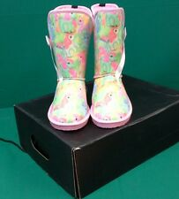 IRON FIST MY LITTLE PONY SLIP ON FABRIC BOOTS - pink emo, mlp 80's, fairy kei