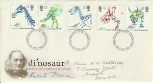 20 AUGUST 1991 DINOSAURS ROYAL MAIL FIRST DAY COVER DONCASTER FDI