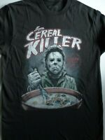 Michael Myers Halloween Cereal Killer Horror Movie T-Shirt
