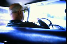 #10 35mm slide - Vintage - Collectibles - Photo - man back of head driver