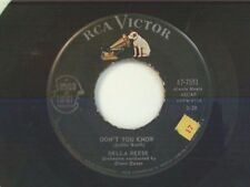 """DELLA REESE """"DON'T YOU KNOW / SOLDIER WON'T YOU MARRY ME"""" 45"""
