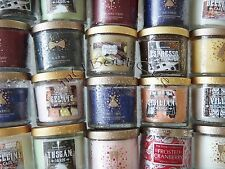 1 BRAND NEW BATH & BODY WORKS HOME WHITE BARN SMALL CANDLE 4 OZ YOU CHOOSE SCENT