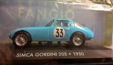 Simca Gordini 20 S 1950 Juan Manuel Fangio Formule 1 1:43 Moulage sous Pression
