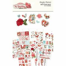 Simple Stories - My Valentine Collection - Vintage - Mini Sticker Tablet