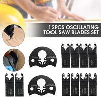 12PCS Oscillating Saw Blade Multi Tool For BOSCH FEIN Multimaster Makita US