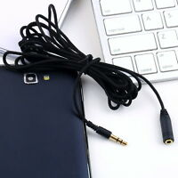 10ft 3.5mm Female to Male F/M Headphone Stereo Audio Extension Cable Cord