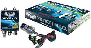 Pyle Car Audio PHDH1K12K New 12,000K Single Beam H1 Hid Xenon Driving Light Sys