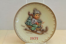 "M.J. Hummel Annual Collector Plate 1975 ""Ride Into Christmas"""