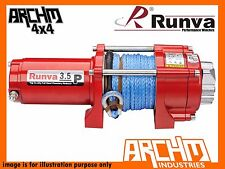 RUNVA ATV SERIES 12V 3500LB / 1588KG WITH DYNEEMA ROPE RECOVERY WINCH