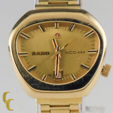 Vintage Rado NCC 444 Gold Plated Automatic Women's Watch 558.3018.2