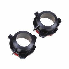2 Pcs Xenon H7 HID Headlight Bulb Holders Adapters Black fits BMW E39-2 5 Series