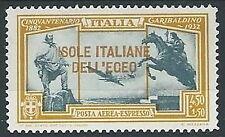 1932 EGEO ESPRESSO AEREO GARIBALDI  4,50 LIRE MH * - G005