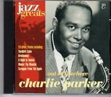 (CA140) Charlie Parker, Out of Nowhere - 1996 Jazz Greats CD No 011