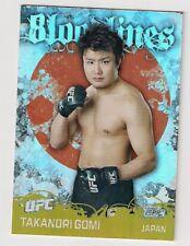 2010 TOPPS UFC BLOOD LINES TAKANORI GOMI