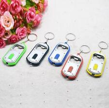New!!! 3-in-1 Beer Bottle Opener LED Light Camping Key Ring Keyring Keychain