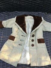 ANTIQUE silk coat for FRENCH doll 4-6 Jumeau Steiner Bru antique lace