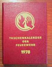 FEUERWEHR - Taschenkalender der Feuerwehr DDR 1978