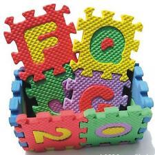 36pcs 6*6cm Kid Child Floor Alphabet & Number Learning Puzzle Mat Foam DIY Pat