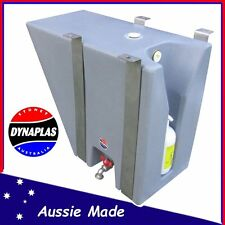 SMALL SILVER UTE UNDERBODY POLY WATER TANK 30 L 4X4 4WD SOAP HOLDER TRAY TOP
