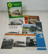 Mixed lot of Train magazines Publications TimeTable Collectible
