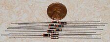 10 Allen Bradley 30 ohm 1/4W Carbon Comp Resistors NOS +/-5%