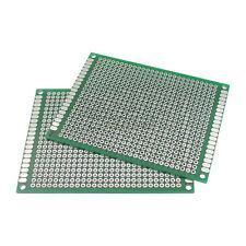 1pcs Double Side Protoboard Circuit Universal Diy Prototype Pcb Board 6cmx8cm