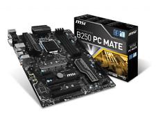 MSI Pro Series Intel B250 Mate LGA 1151 DDR4 HDMI USB 3.1 NEW ATX Motherboard