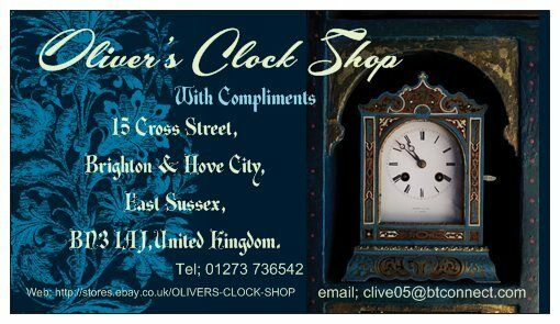 OLIVER'S CLOCK SHOP