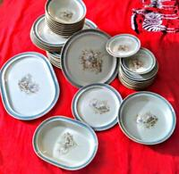 Noritake Autumn day Stoneware dinnerware set