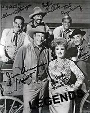GUNSMOKE AUTOGRAPHED  Cast Members   8 x 10 Photo Reprint  Early 1960's GUN-12