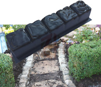 2 X Edge Stone Paving Mould Turtle Stepping Stone Mold Concrete Cement Mould
