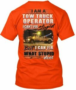 Cozy Sarcastic Tow Truck Operator - I Am A Can't Fix Hanes Tagless Tee T-Shirt