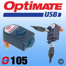 OptiMate Dual USB Charger 3300mA - DIN Plug (O105) UK Supplier & Warranty NEW